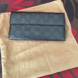 Guccissimo Long wallet